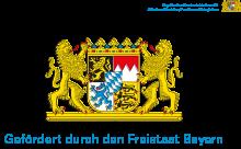 Gefördert durch den Freistaat Bayern