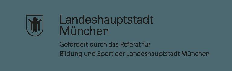 Gefördert durch das Referat für Bildung und Sport der Landeshauptstadt München